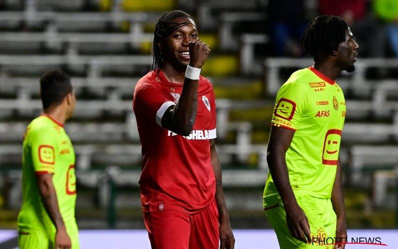 Dieumerci Mbokani weet niet wat hij hoort bij Antwerp