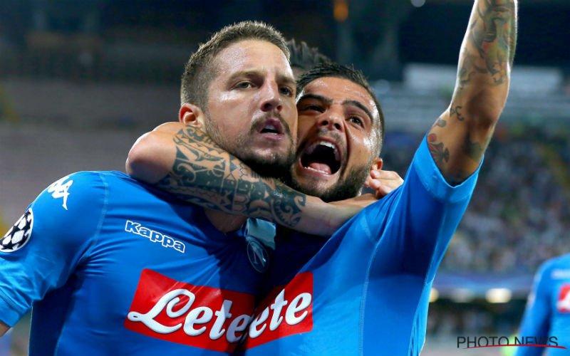 Eerste puntenverlies voor Mertens en co in topper tegen Inter