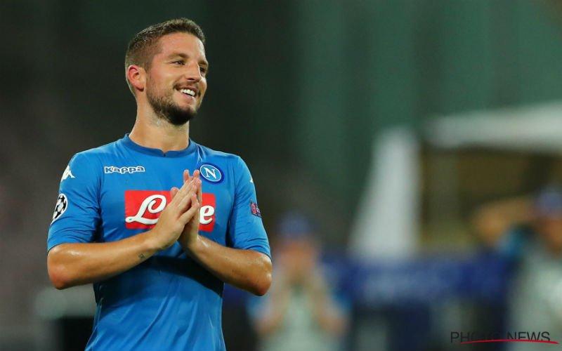 Mertens ziet Napoli vanop bank uitstekend aan seizoen beginnen