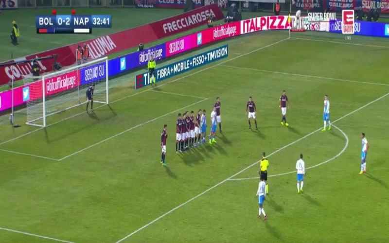Mertens schittert alweer voor Napoli met heerlijke vrije trap (Video)