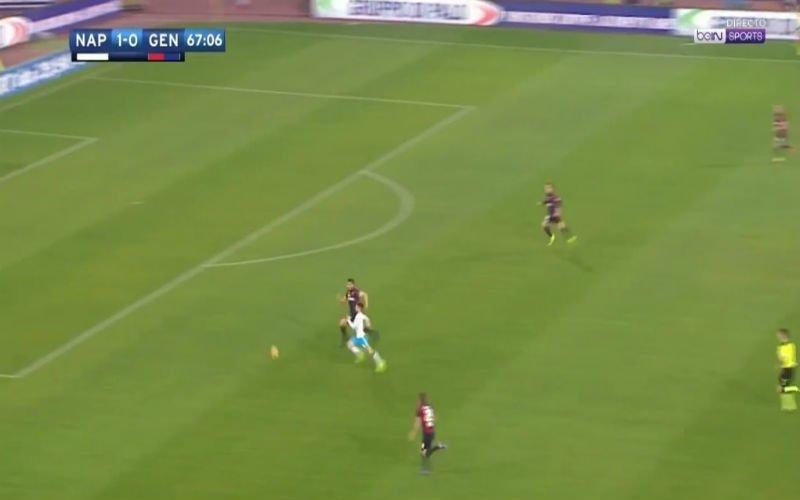 Wat een fantastische assist van Dries Mertens alweer (Video)