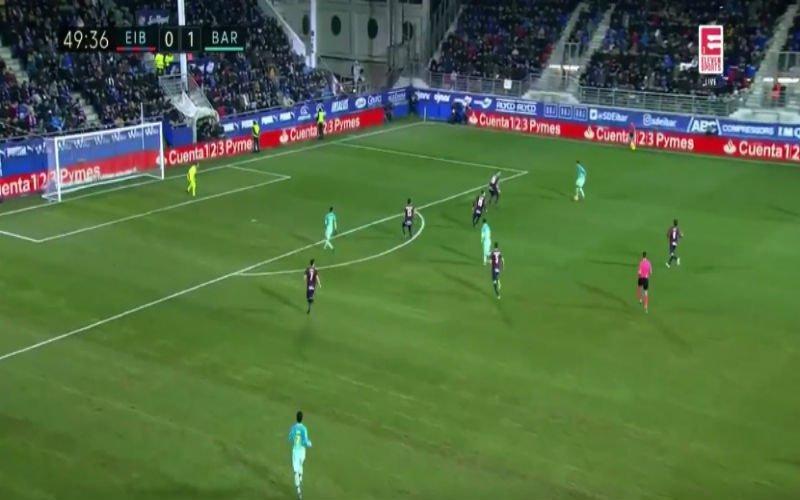 Messi werkt perfecte assist van Suarez heerlijk in één tijd af (Video)