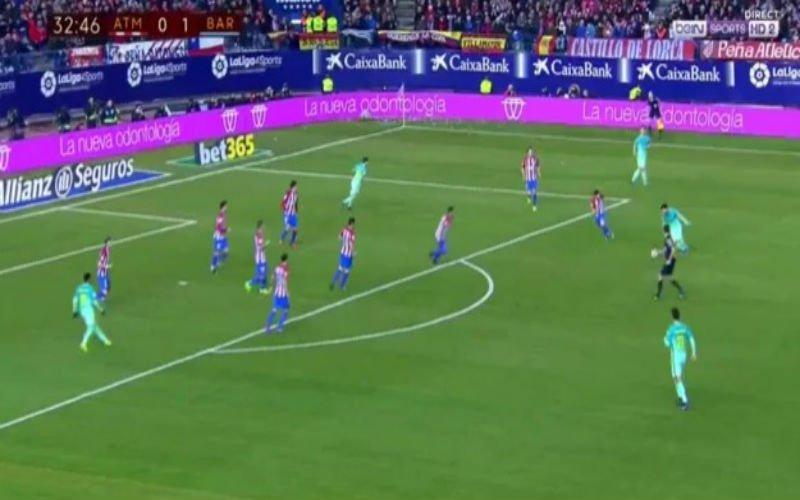Messi scoort met een onhoudbare kanonskogel tegen Atlético Madrid (Video)