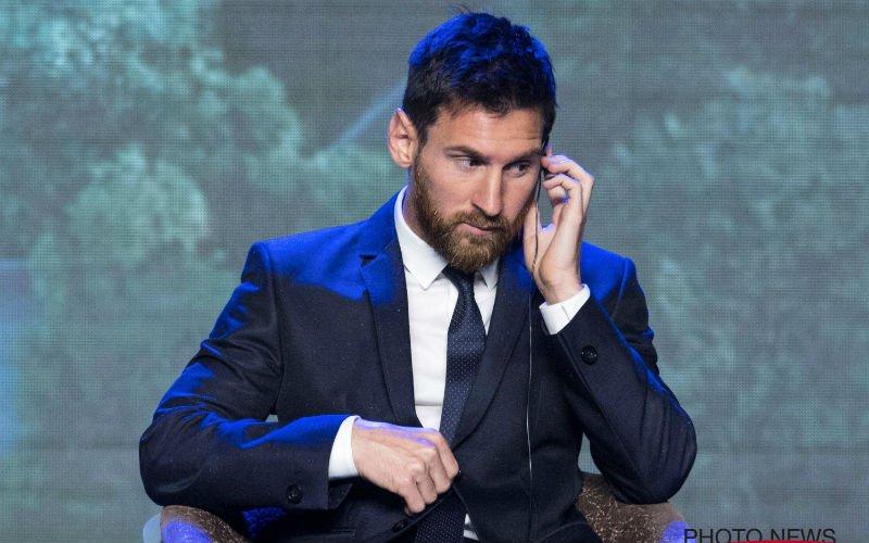 Messi verrast de hele wereld als hij plots dit doet (Video)