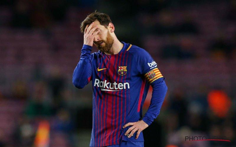 Messi verrassend niet in selectie Barcelona, dit is waarom