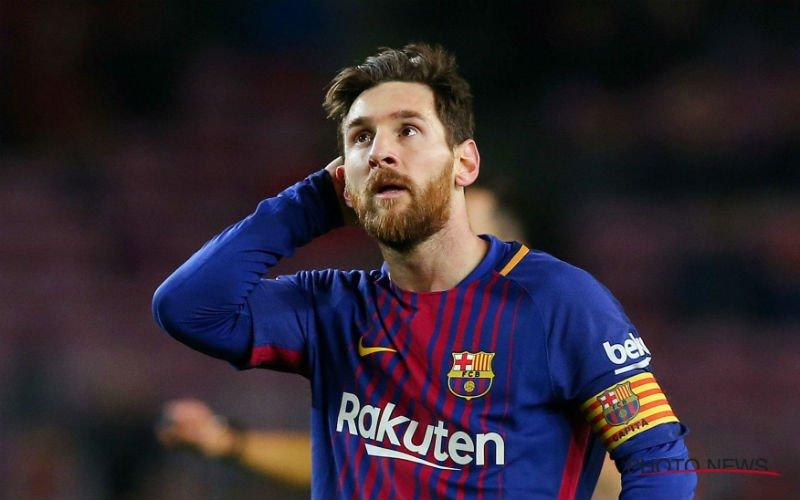 Ramp voor Barcelona? 'Messi neemt ingrijpend besluit'
