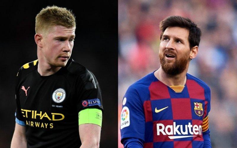 'Manchester City pakt uit met droomduo Messi-De Bruyne'