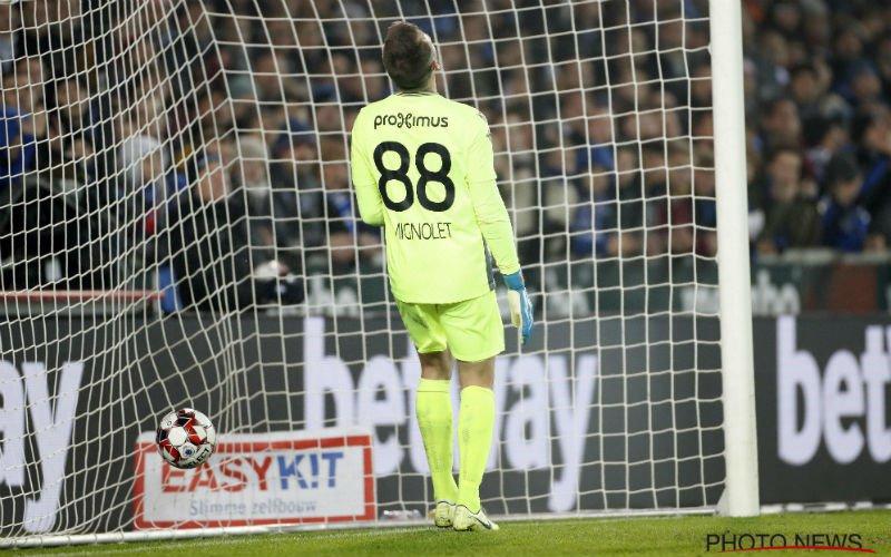 Club Brugge nog lang niet in bekerfinale na grote blunder van Mignolet