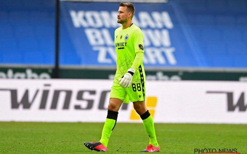 'Alarmfase rood bij Club Brugge over vertrek van Mignolet'