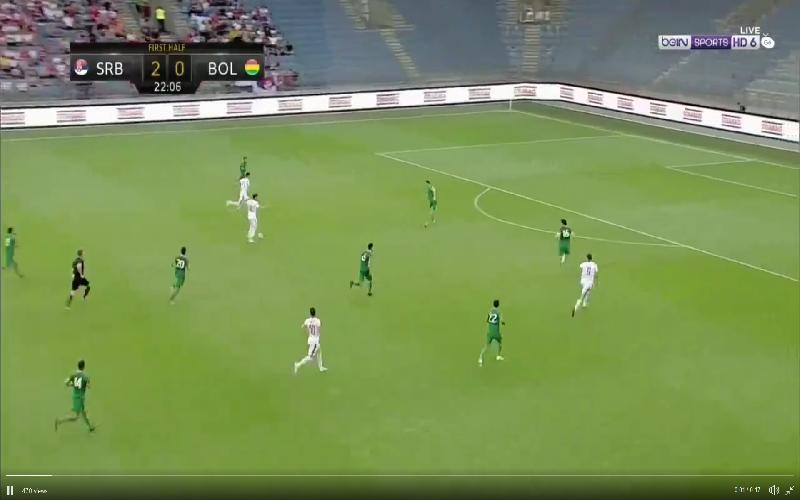 Ex-Anderlecht-spits Mitrovic maakt veel indruk met knappe dubbelslag (Video)