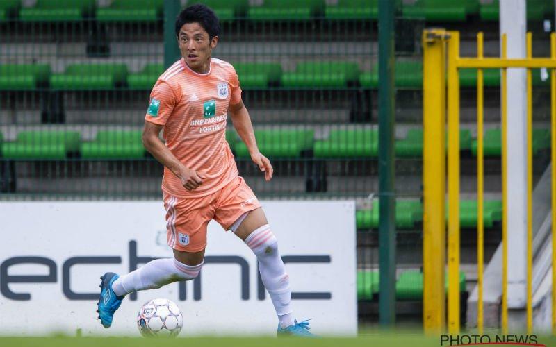 'Ryota Morioka vertrekt bij Anderlecht'