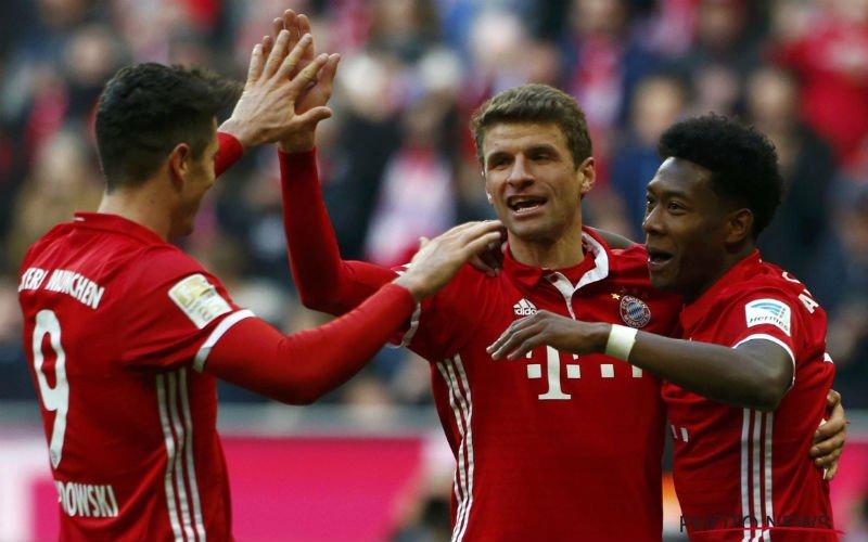 Bayern München zet onwaarschijnlijke uitslag neer