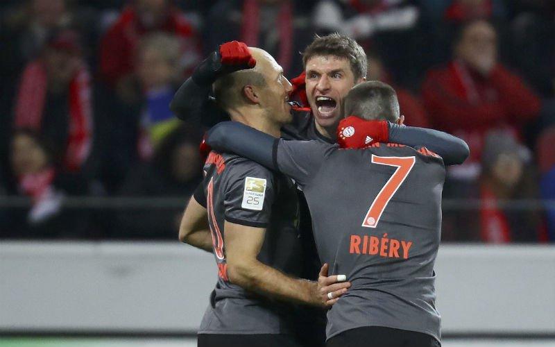Bayern München wint vlot bij Mainz