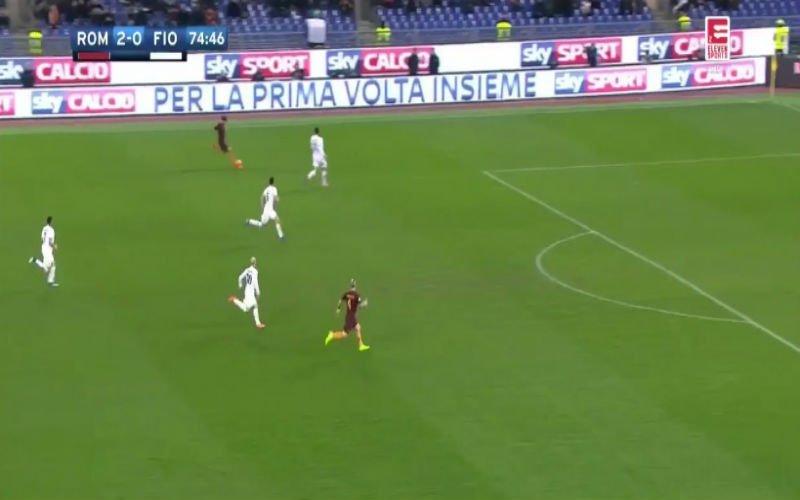 Radja Nainggolan werkt knappe counter van AS Roma erg fraai af (Video)