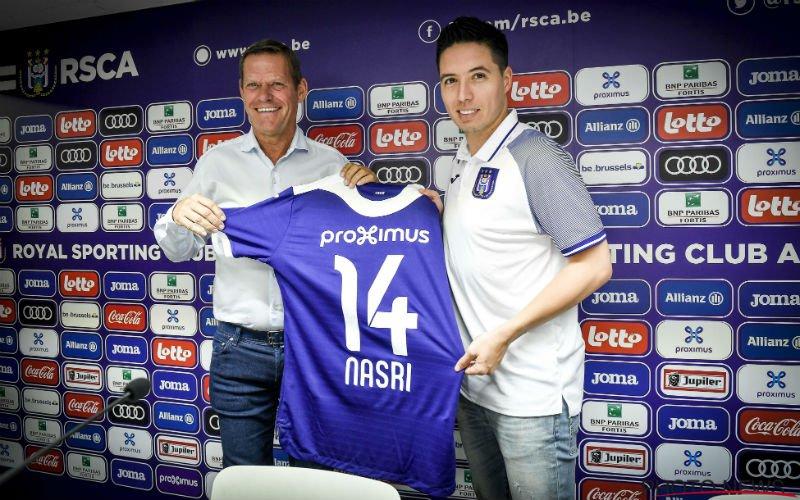Samir Nasri wil meteen iets kwijt over Club Brugge
