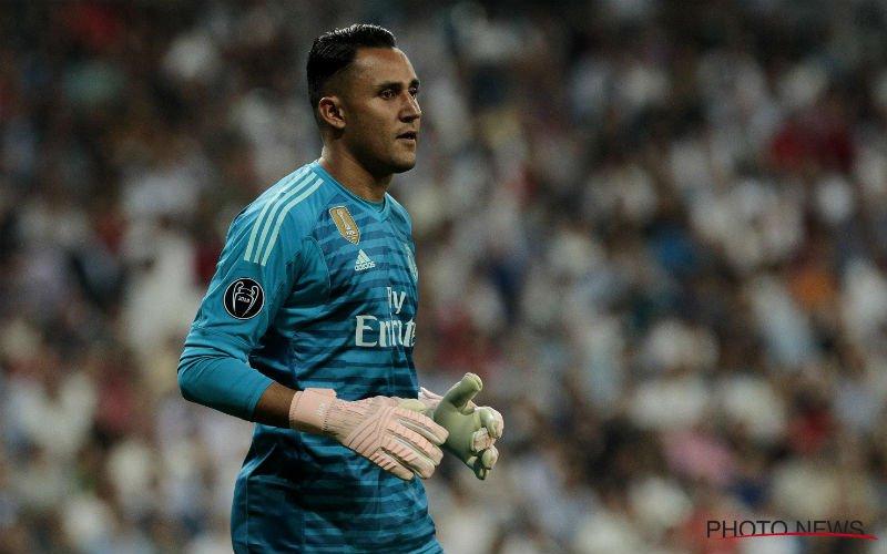 'Courtois naar de bank bij Real Madrid, Navas tussen de palen'
