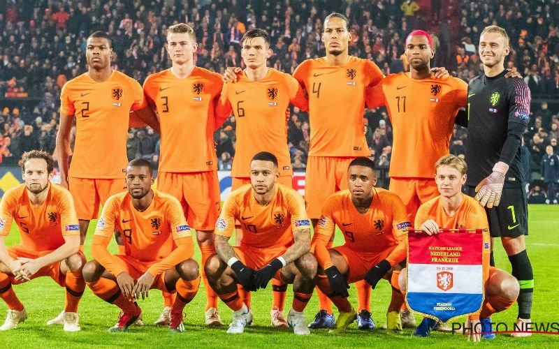 Oranje toont Rode Duivels hoe het moet, pijnlijke degradatie voor Duitsland