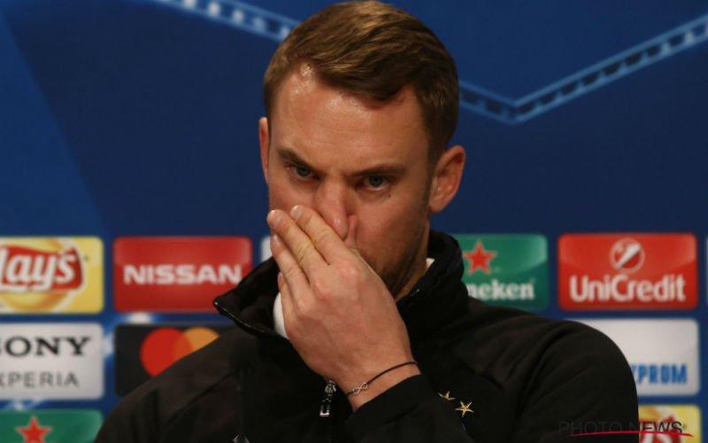 Verschrikkelijk nieuws voor Manuel Neuer na uitschakeling van Bayern