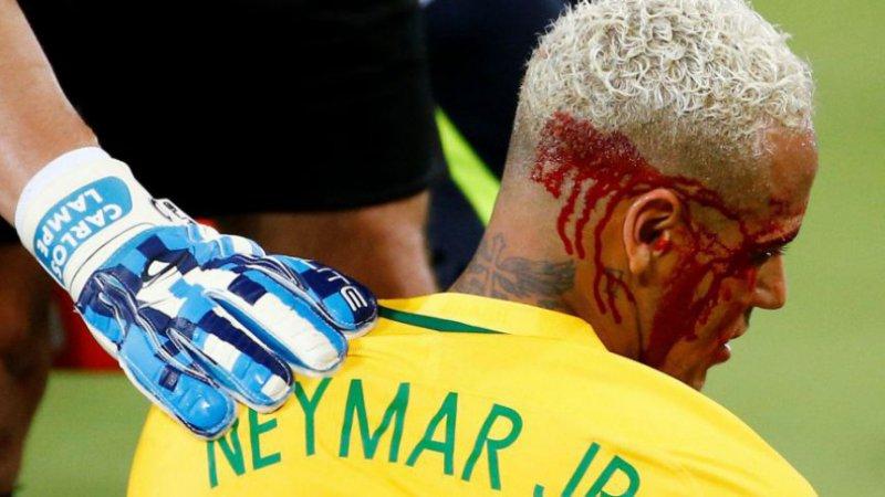 Drama voor Neymar