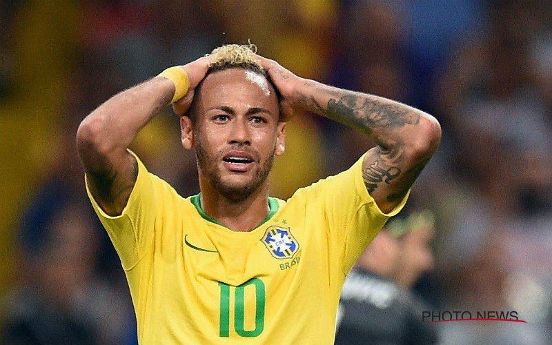 """Vlak voor Brazilië-België: """"Ik doe beroep op FIFA, Neymar mag niet spelen"""""""