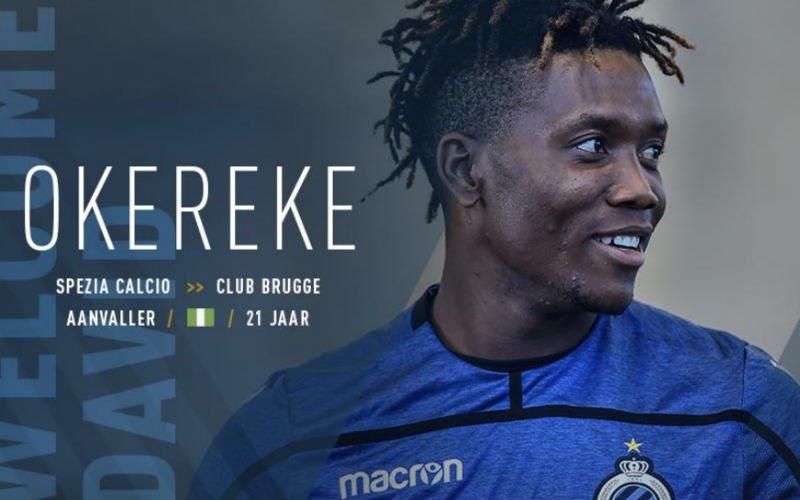 Dit wordt het rugnummer van recordaankoop Okereke bij Club Brugge