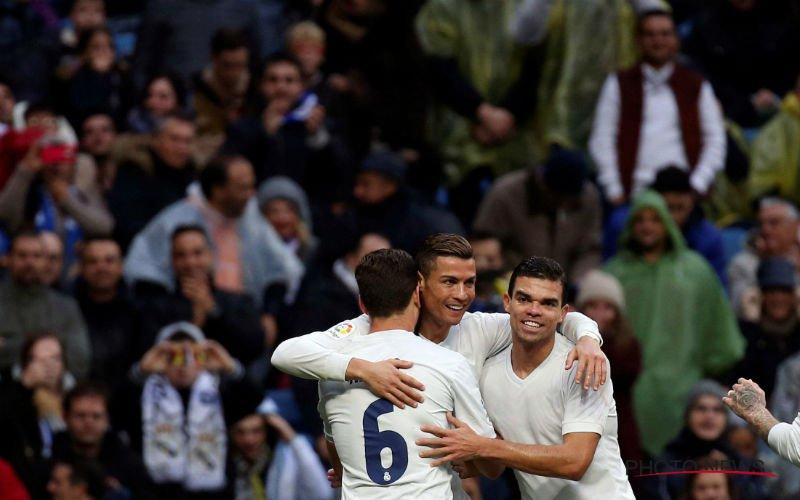 Wedstrijd van Real Madrid wordt afgelast