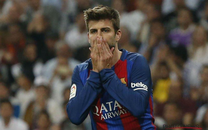 Piqué doet monden openvallen na uitspraken over Real Madrid