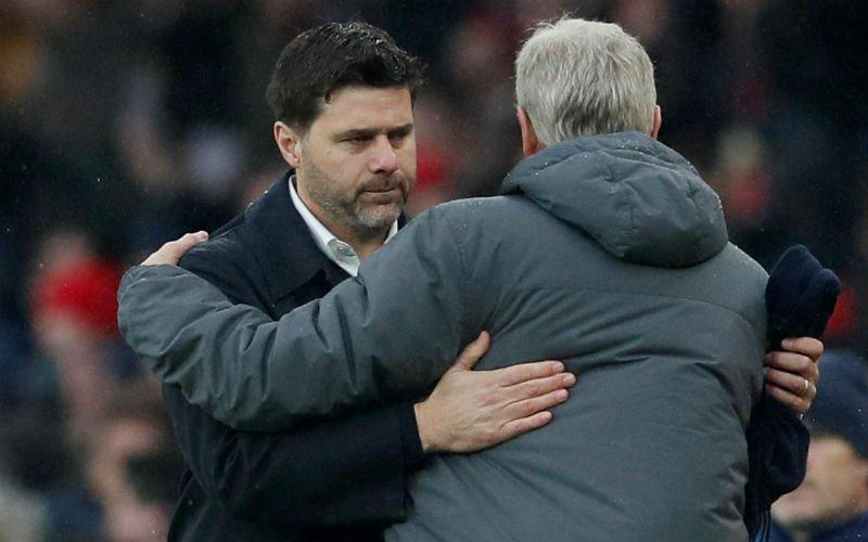 Wenger en Pochettino zwaar in de clinch na discutabele derby