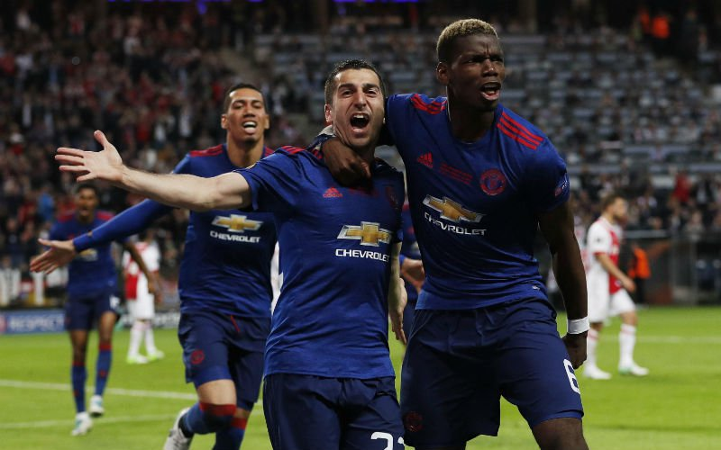 Manchester United wint de Europa League