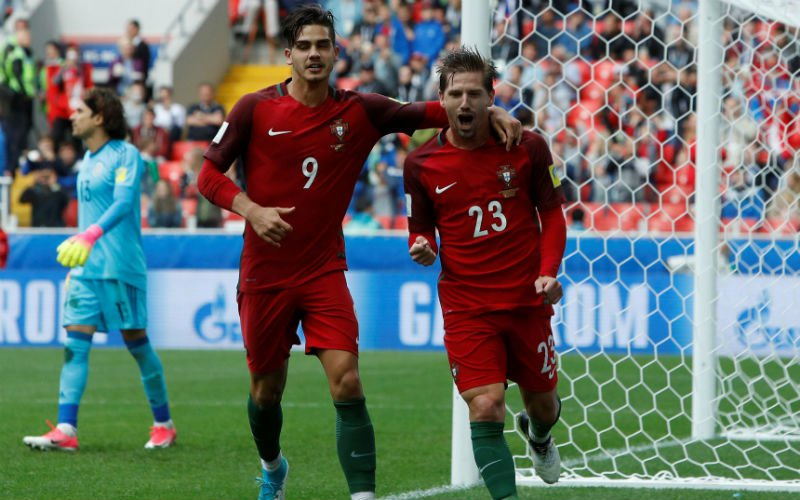 Portugal na thriller derde op Confederations Cup
