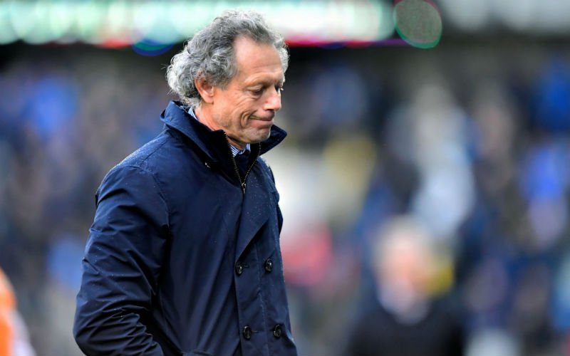 Preud'homme dreigt spelers eruit te gooien bij Club Brugge