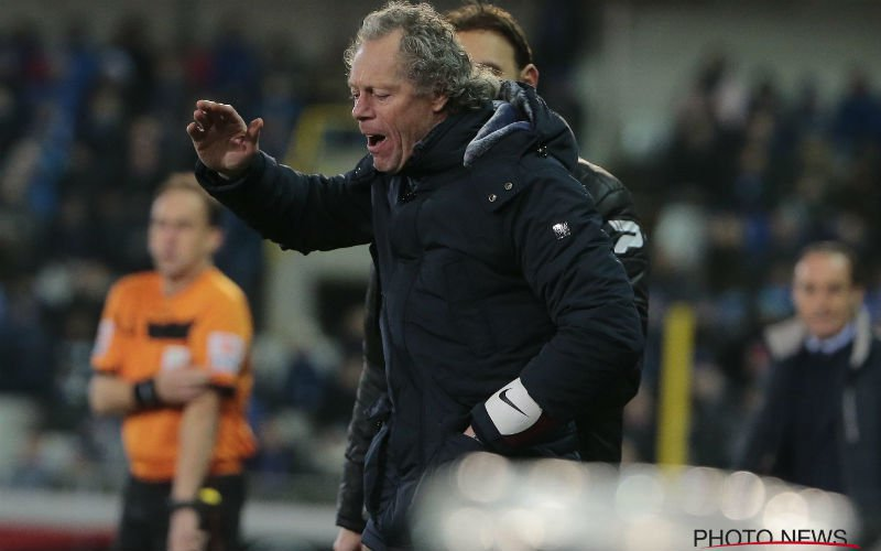 Vertrouwen in Preud'homme weg bij Club Brugge?