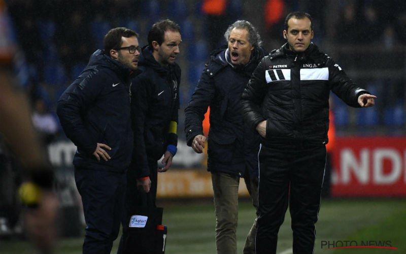 Preud'homme maakt zich erg kwaad bij Club Brugge
