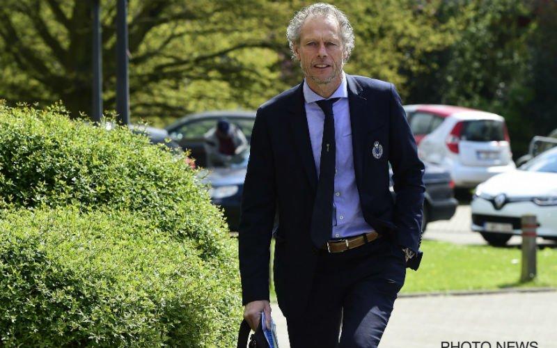 Preud'homme krijgt rampzalig nieuws te horen over topper tegen Anderlecht