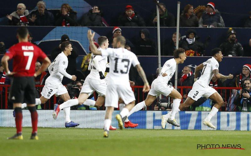 PSG kan kwartfinales al ruiken na fraaie zege bij Man United