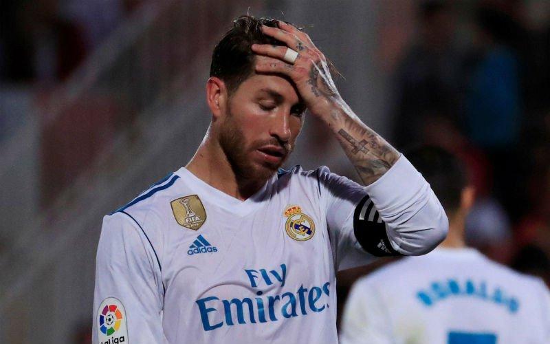 Zware confrontatie tussen spelers Real en Juve, Ramos in de problemen