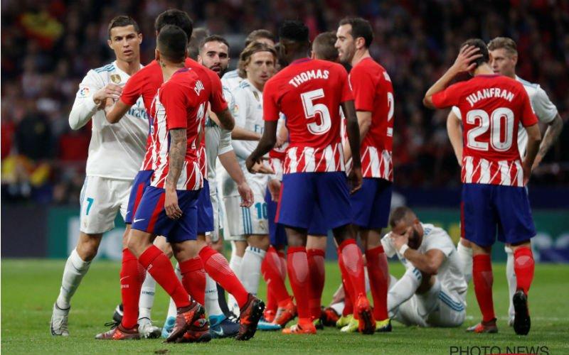 Barcelona grote winnaar in derby tussen Atlético en Real
