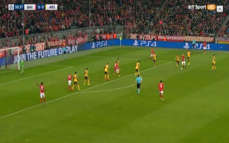 Arjen Robben velt Arsenal al meteen met een werelddoelpunt (Video)