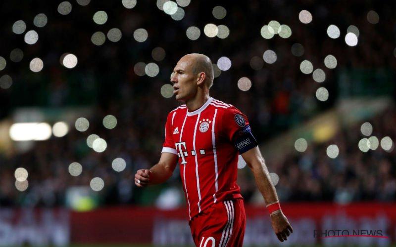 Arjen Robben heeft heel slecht nieuws voor Anderlecht