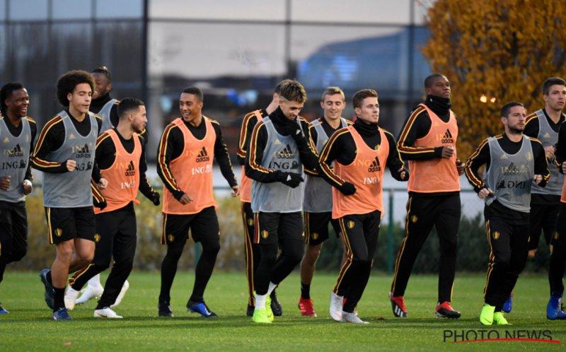 Wed en kijk LIVE naar België-IJsland: Kiest Martinez voor een verrassing?