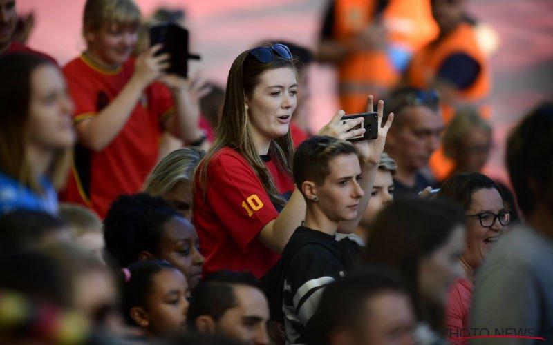 Belgische fans zeer zwaar teleurgesteld in Rode Duivels