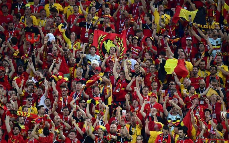 Fans van Rode Duivels laten ploeg in de steek: