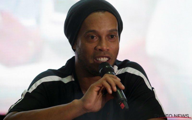 Ronaldinho hoopt op deze transfer: