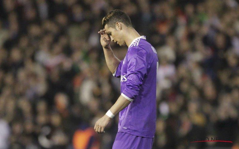 Miserie bij Real Madrid: Ruzie tussen Ronaldo en ploegmaat