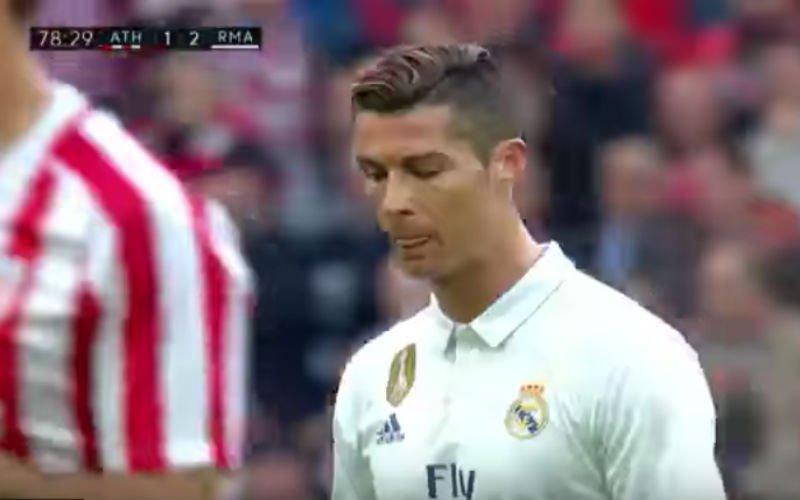 Kan Zidane dit nog aanvaarden? Deze woorden schreeuwt Ronaldo naar zijn coach (Video)