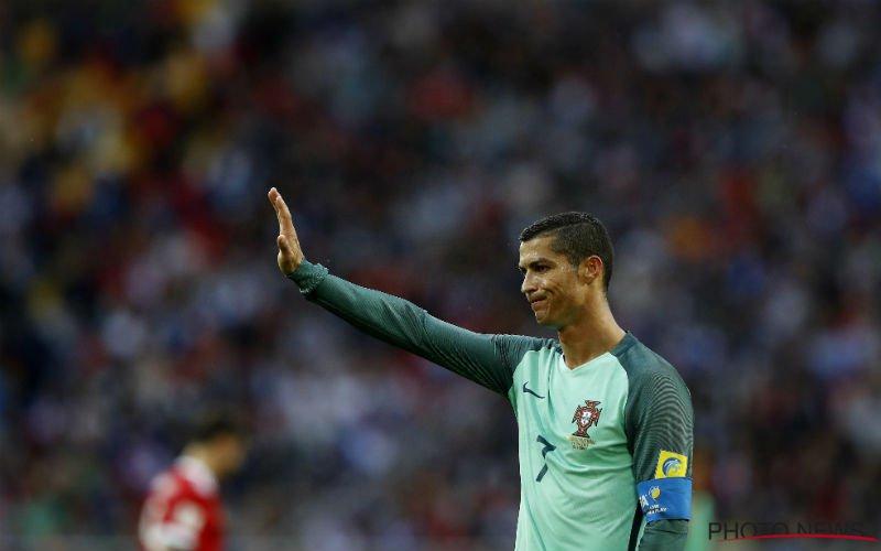 Ronaldo doet het ook op de Confederations Cup
