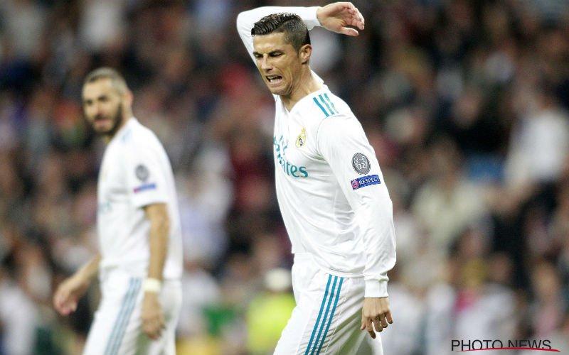 'Cristiano Ronaldo is woest op deze Real-ploegmaat'