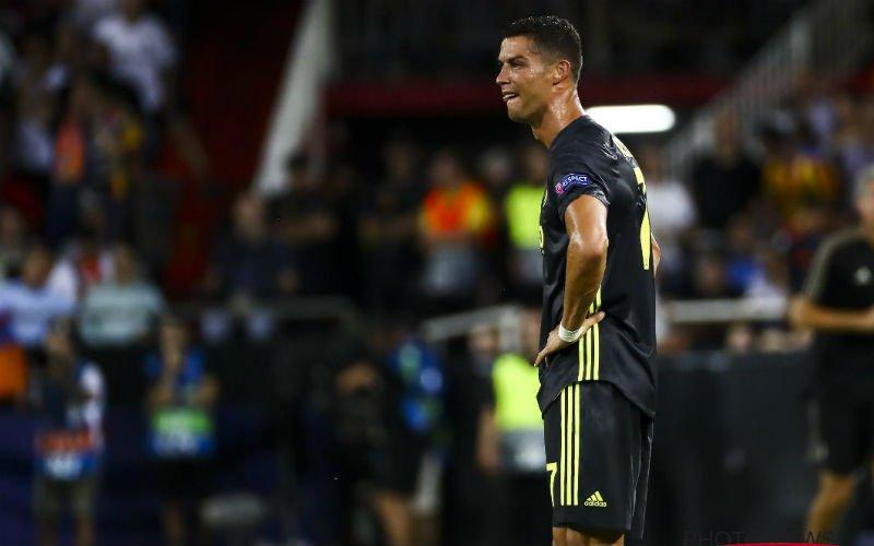 Cristiano Ronaldo kent zijn schorsing na rode kaart tegen Valencia