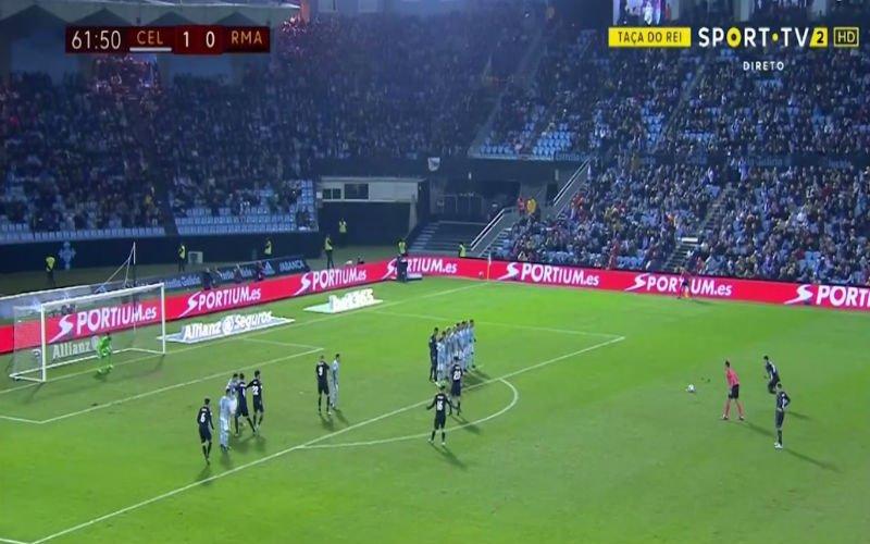 Cristiano Ronaldo scoort heerlijke vrije trap (Video)