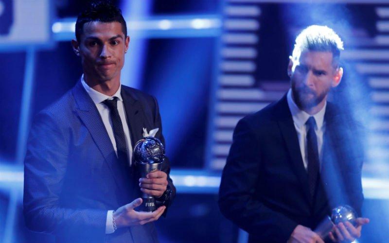 Ronaldo krijgt wel zéér speciaal bezoek op de uitreiking van de Gouden Bal